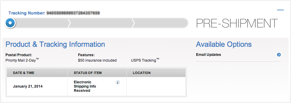 What Does My Tracking Number Tell Me